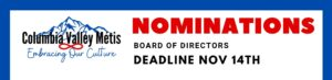 Deadline for Board Nominations